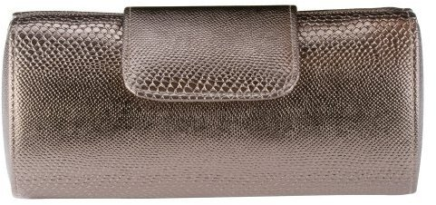 Merona® Split Box Clutch - Pewter