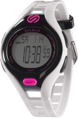 Soleus Women's SR019-112 Dash Small Digital Display Quartz White Watch