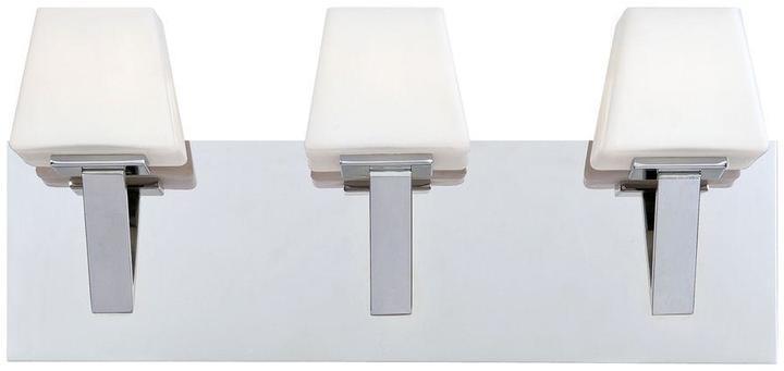 Eurofase Anglo Collection 3-Light Chrome Bath Bar Light