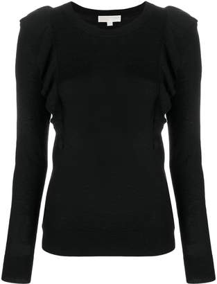 MICHAEL Michael Kors frill detail sweater