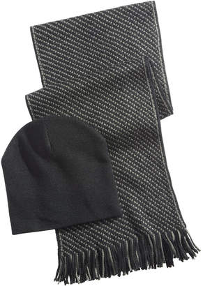 Club Room Men's Beanie & Scarf Gift Set, Created for Macy's