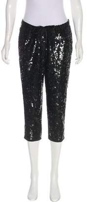 Gryphon Sequined Mid-Rise Pants