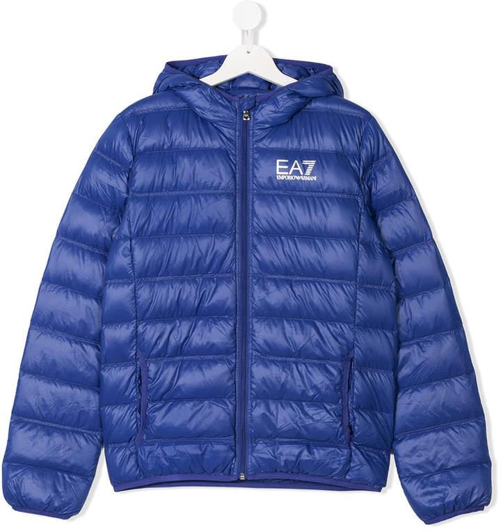 TEEN hooded padded jacket