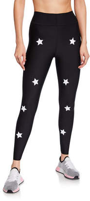 ULTRACOR Ultra High Star-Print Reflective Knockout Leggings