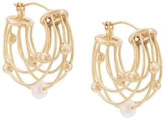 Ellery pearl detail earrings
