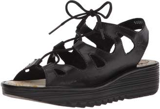 Fly London Women's EXON871FLY Wedge Sandal