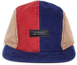 Saturdays NYC Stanley Italic Denim Snap Hat 3aca4eef9