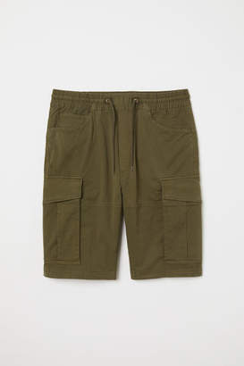 H&M Cargo Shorts - Green