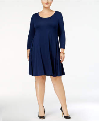 Style&Co. Style & Co Plus Size Swing Dress, Created for Macy's