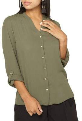 Dorothy Perkins Classic Roll-Sleeve Shirt