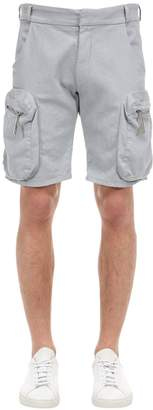 A-Cold-Wall* A Cold Wall* Military Drill Cotton Shorts
