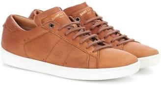 Saint Laurent SL/01 leather sneakers