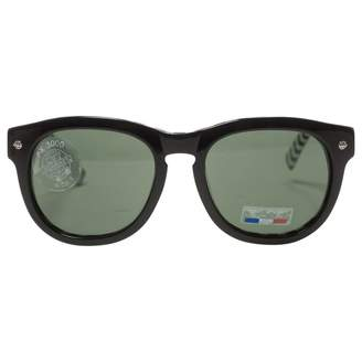 Vuarnet Black Plastic Sunglasses
