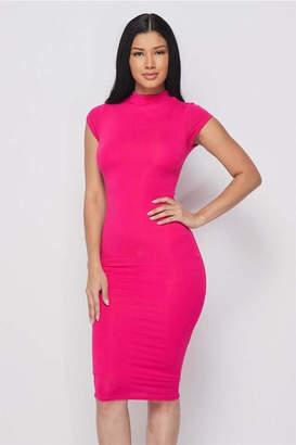 Hot & Delicious Cap Sleeve Dress