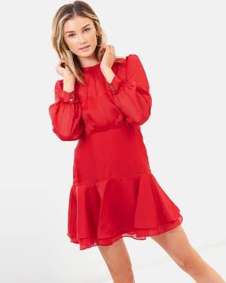 Cooper St Hepburn Long Sleeve Mini Dress
