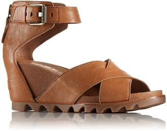 Sorel Women's Sorel, Joanie II Wedge Sandals CAMEL 7.5 M