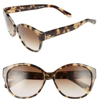 Kate Spade 'kiersten' 56mm Cat Eye Sunglasses