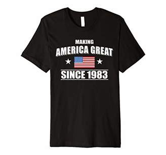 Happy 1983 It's My 35th Years Old Birthday Gift Ideas Tshirt