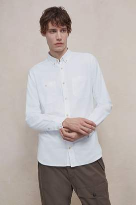 French Connection Overwashed Oxford Shirt