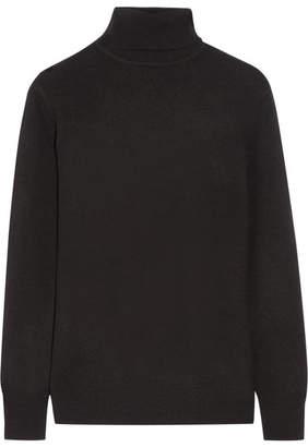Equipment - Oscar Cashmere Turtleneck Sweater - Black $320 thestylecure.com