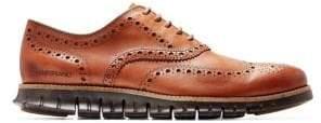 Cole Haan ZeroGrand Wingtip Leather Oxfords