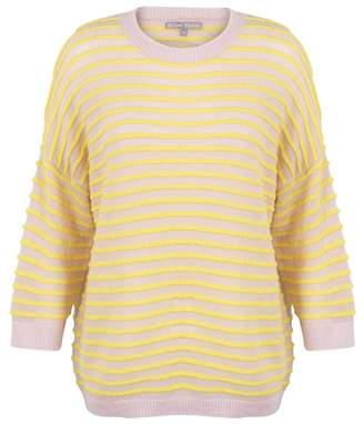 Oliver Bonas Authentic Stripe Yellow Jumper