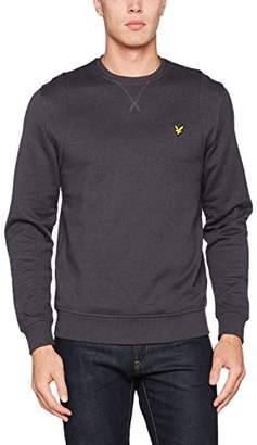 Lyle & Scott Men's Mouline Sweatshirt, Greay (WASHED), X-Small