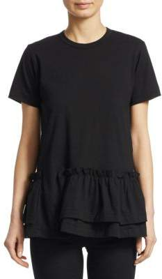 Comme des Garcons Tiered Ruffle Tee
