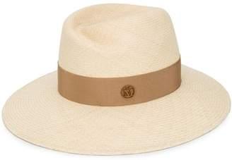 Maison Michel woven band hat