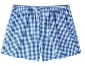 Mango man MANGO MAN Check cotton boxer shorts