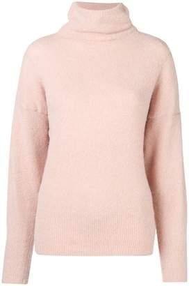 Dagmar Ester turtleneck brushed sweater