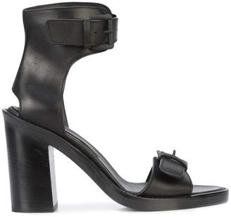 Ann Demeulemeester open-toe buckle sandals