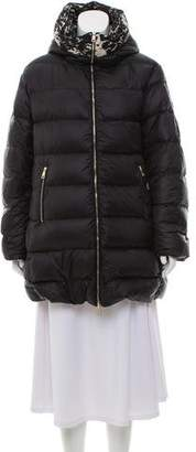 Moncler Colliers Reversible Down Coat