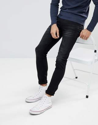 Celio Black Skinny Fit Jeans
