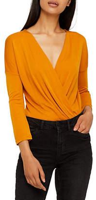 Vero Moda Vasey Surplice Neckline Bodysuit