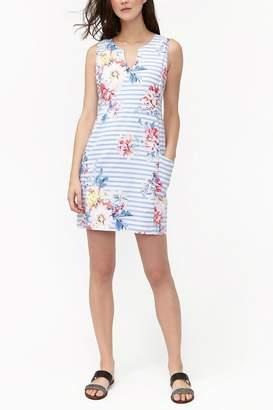 Joules Notch Neck Dress