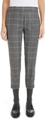 Thom Browne Windowpane Check Skinny Trousers