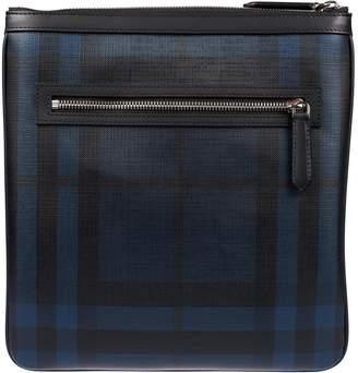 Burberry Trimmed Checked Shoulder Bag