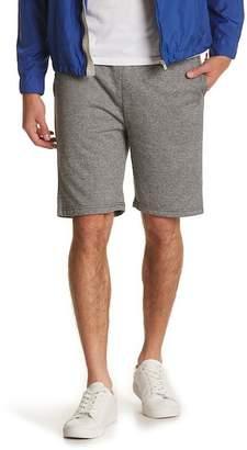 The Narrows Varsity Stripe Marled Shorts