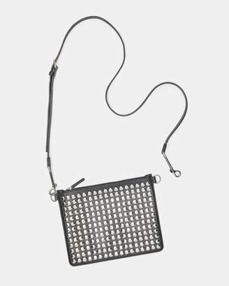 Theory Studded Transformer Pouch In Nappa Leather