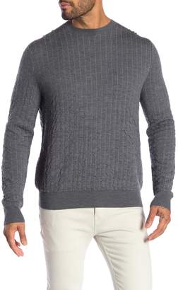 Theory Wool Sinne Milos Crew Neck Pullover