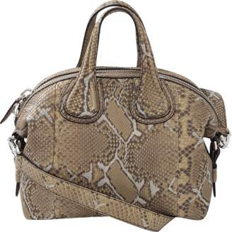Givenchy Python Small Nightingale Bag