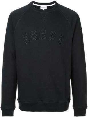 Norse Projects embroidered logo sweater