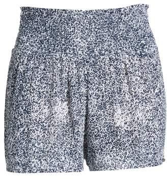 Volcom She's So Daisy Smock Waist Shorts