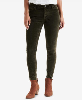 Lucky Brand Ava Super Skinny Velvet Jeans