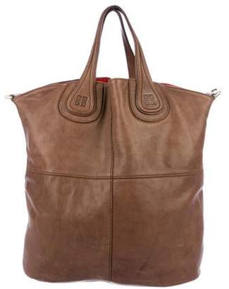 Givenchy Leather Nightingale Satchel Brown Leather Nightingale Satchel