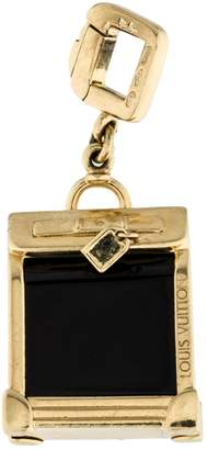 Louis Vuitton Yellow gold bag charm