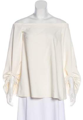 Camilla And Marc Off-The-Shoulder Woven Blouse