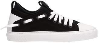 Bruno Bordese Triangular Black White Nabuk Sneakers