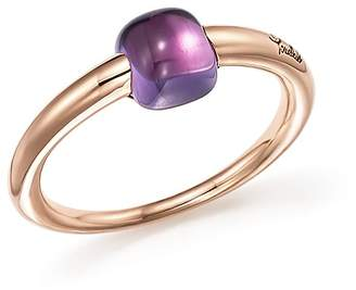 Pomellato M'Ama Non M'Ama Ring with Amethyst in 18K Rose Gold
